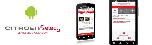 Citroen Select Android