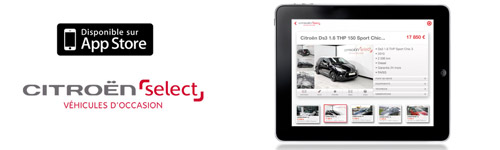 Citroen Select IPAD