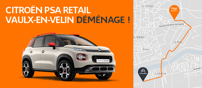 Psa retail lyon vaulx en velin garage et concessionnaire for Garage pneu vaulx en velin